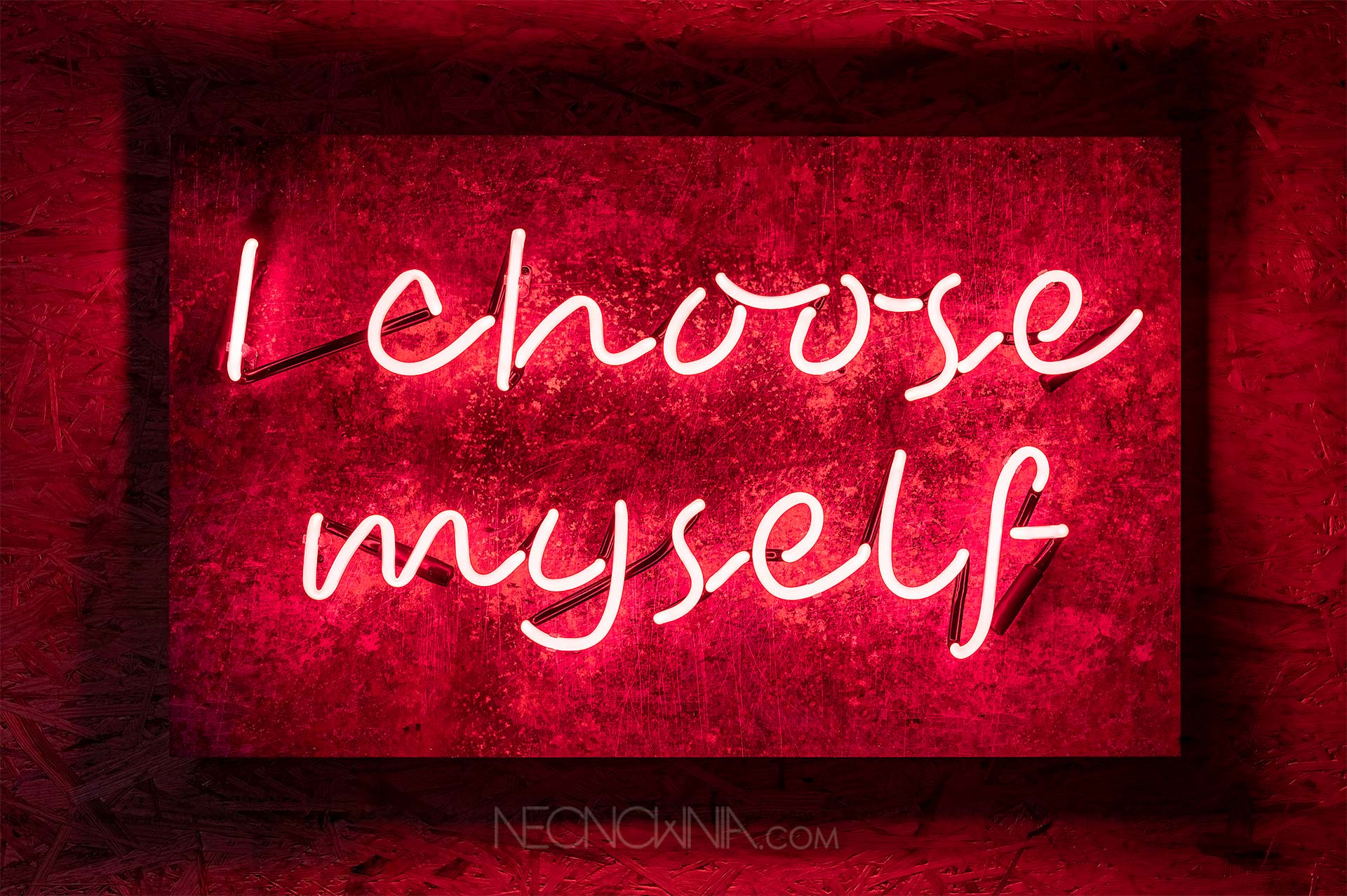 I CHOOSE MYSELF