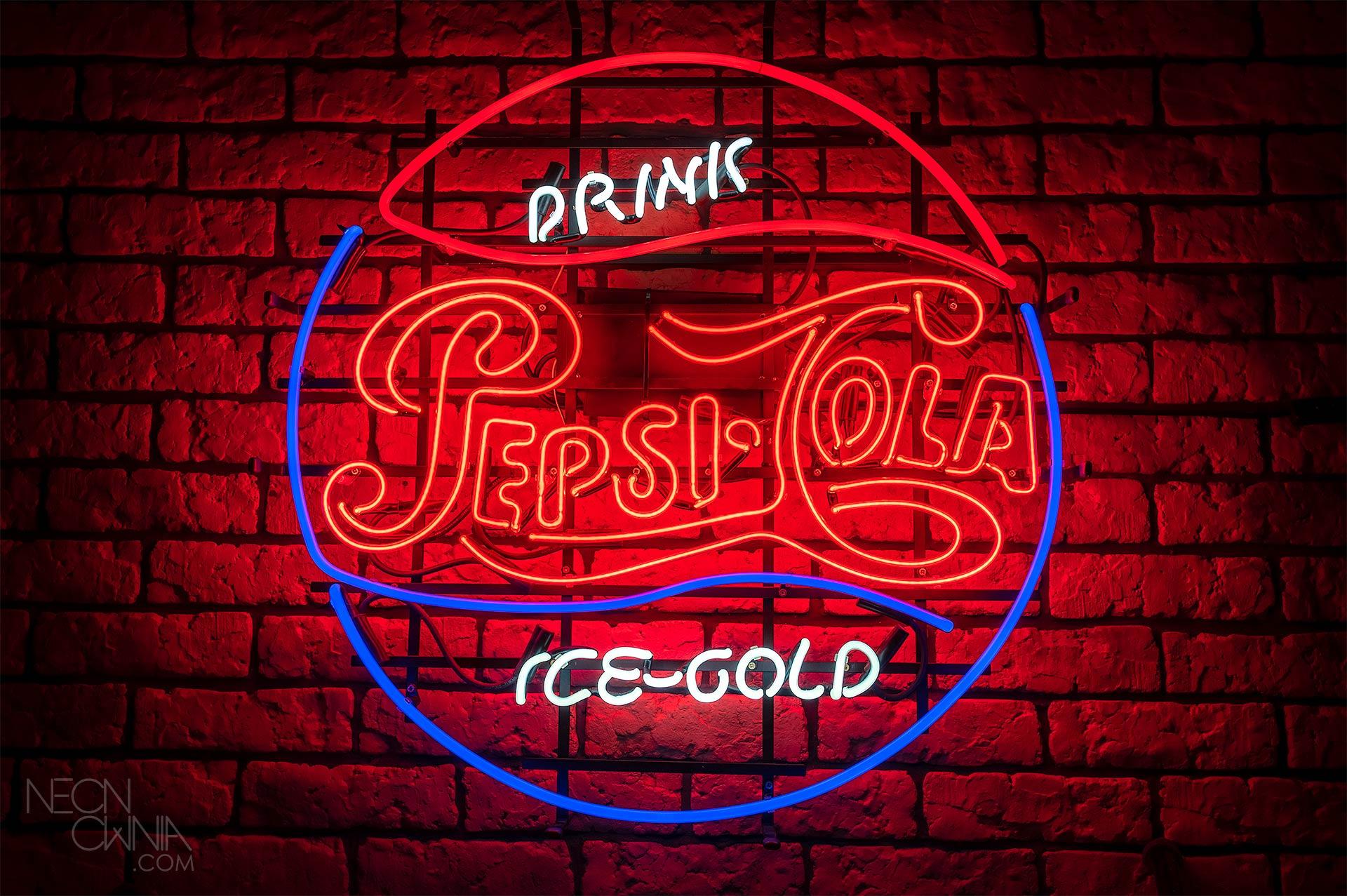 PEPSI COLA ICE  COLD